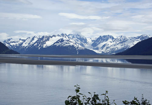 Alaska Mountain Scene